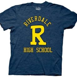 Riverdale High School Big R Adult T-Shirt