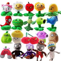 Plants vs. Zombies Plush OLIA DESIGN OliaDesign Toy Set (20 Piece), Small (Lot 15-20cm/6-8 Tall)