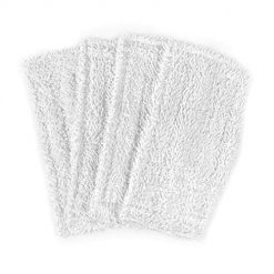 Shark Steam Mop Pads, Ximoon 4 Pack Washable Cleaning Pads Replacements for Shark Steam & Spray Mop SK410, SK460, SK115, SK140, SK141, SK435CO, S3101, S3102, S3250, S3251