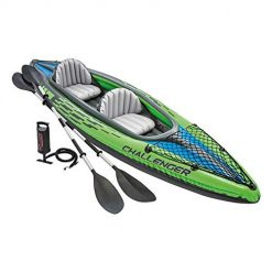Intex Explorer k2 kayak, Intex Challenger K2 Kayak, 2-Person Inflatable Kayak Set with Aluminum Oars and High Output Air Pump