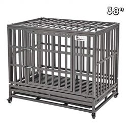 Extra Large Dog Crate Best SMONTER 38