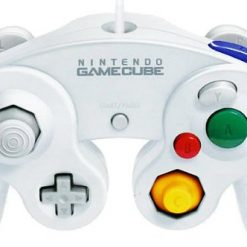 White Japanese Gamecube Controller, Official Nintendo