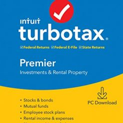 TurboTax Premier + State 2019 (PC / Mac Download or Disc)
