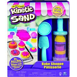 Kinetic Sand Bake Shoppe Playset w/ 1-Lb Kinetic Sand & 16 Tools/Molds