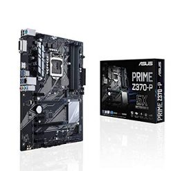 ASUS PRIME Z370-P LGA1151 DDR4 HDMI DVI M.2 Z370 ATX Best Motherboard At Amazon with USB 3.1 for 8th Generation Intel Core Processors
