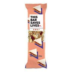This Bar Saves Lives., Granola Bars Peanut Butter Jelly, 1.4 Ounce, 12 Pack