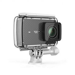 Action Camera 4K+/60fps Action Camera with Waterproof Case, Plus Voice Control and 12MP RAW Image (Black)