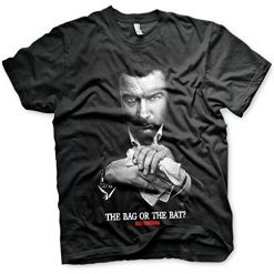 Officially Licensed Ray Donovan - The Bag Or The Bat Men's T-Shirt (Black)