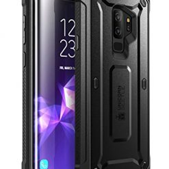 SUPCASE Unicorn Beetle Pro Series Case Designed for Samsung Galaxy S9+ Plus, with Built-In Screen Protector Full-body Rugged Holster Case for Galaxy S9+ Plus (2018 Release) (Black)