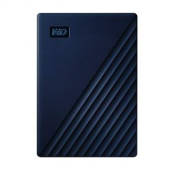 2 Terabyte Hard Drive, WD 2TB My Passport for Mac Portable External Hard Drive - Blue, USB-C/USB-A - WDBA2D0020BBL-WESN